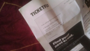 A boogie with da hoodie UNION HALL ticket