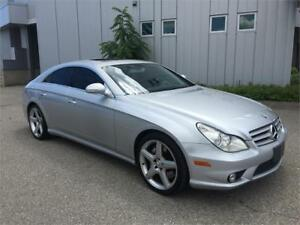 2006 MERCEDES BENZ CLS55 AMG NAVIGATION 118KM LEATHER SUNROOF