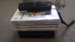 Black Wii Plus Games Home Brew Channel