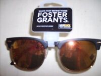 """NEW"" PAIR FOSTER GRANT,S MAX BLOCK SUN GLASSES NEW WITH TAGS"