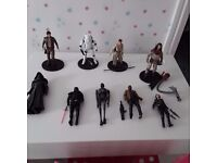 STAR WARS **Elite Die Cast Figures** Like New Cost £210