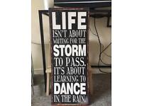 Metal quote picture