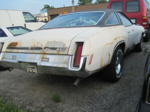 1973 Olds 442 - RARE 455 V-code 270hp with 4 speed Hurst shifter