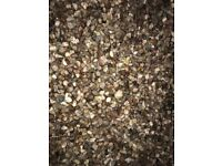 Decorative gravel - approx 500kg available