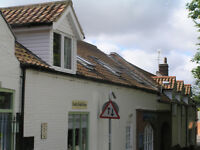 STALHAM 2 BED RECENTLY CONVERTED ,SLIGHTLY QUIRKY, 1ST FLOOR FLAT OVER RETAIL PREMISES TO RENT
