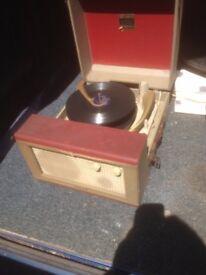 1960s original record player