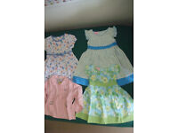 3-4 years old girl's dresses and a top (NEW)