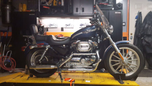 100th  anniversary 2003 Harley Davidson 1200 cc  with 10598kms