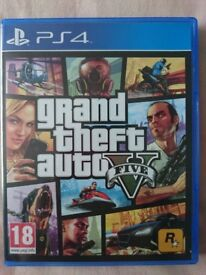 GTA V Grand Theft Auto 5 (Five) for Sony PlayStation 4 PS4 Video Game
