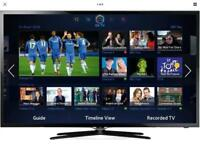 40 inch Samsung full HD Smart LED TV witH Samsung slim wall mount included