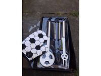 4 piece Football Summer Barbecue Set - See description - Collection Stockport