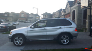 2002 bmw x5 4.6is M package.