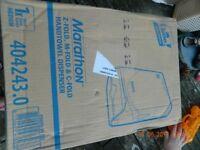 Lotus professional Marathon Z-fold, M-fold & C-fold hand towel dispenser