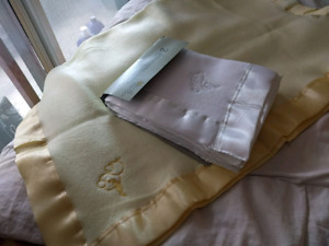 2 baby blankets - totally new. Never used!