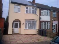 BIG DOUBLE ROOM £325PM/£100 DEPOSIT, OFF CATHERINE ROAD LE4 6GX, SUIT MATURE CLEAN WORKING COUPLES