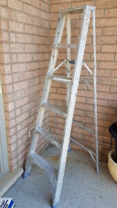 Moving Sale -  6 Foot Aluminium Ladder