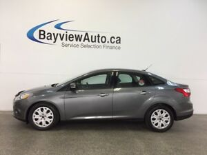 2013 Ford FOCUS SE- 2L! A/C! HEATED SEATS! SYNC! LOW KM'S!