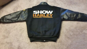 One of a Kind Montreal Harley Davidson Jacket Size L-XL