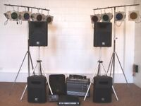 PA SYSTEM FULLY OPERATIONAL / AS NEW PA & LIGHTING COMPLETE ( see listing )