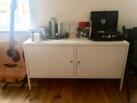 Ikea PS cabinet sideboard white metal