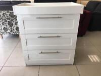 Brand new Mamas and Papas Chest of drawers with changer top