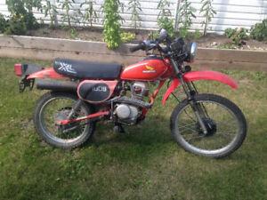 1982 Honda XL100S