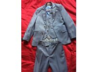 3 piece blue suit age 7-8