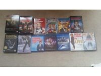 Blu ray and dvds