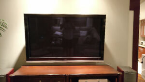 "55"" Hitachi Plasma Display TV"