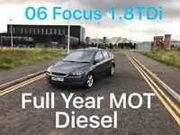 £999 2006 Focus Diesel 1.8l* like focus astra corolla mondeo vectra passat octavia audi a3 a4 golf