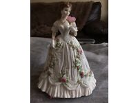 Queen of hearts by royal Worcester fine bone china