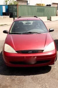 2001 Ford Focus SE Wagon  $500   (AS-IS Great Price/Great car)