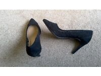 M&S new black stilettos size 5.5
