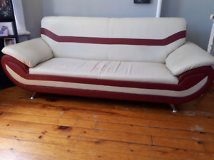 Unique Retro Custom 3 pc Couch Set