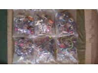 6 Sealed Bags of Unsorted Costume Jewellery