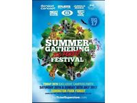 4 x tickets Summer Gathering Festival 2017: Forest Zoo - £150