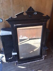 Very Old Antique Dresser With Mirror