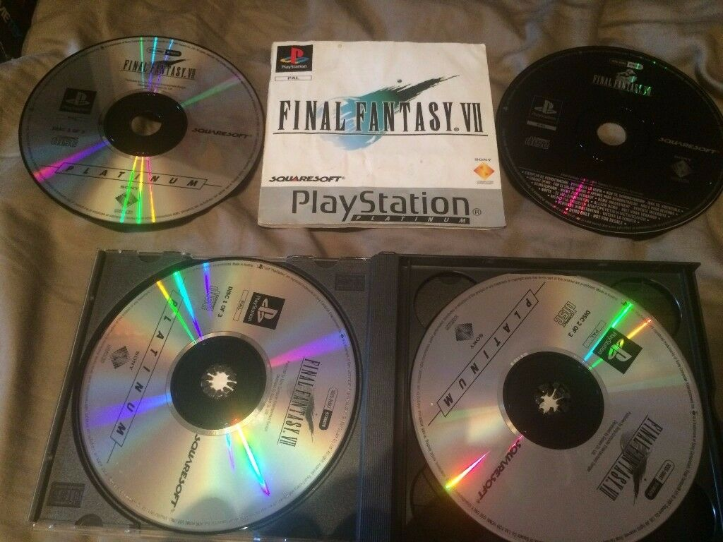 Final Fantasy 7 Playstation In Final Fantasy 8 Case PS1 FF7in Barnet, LondonGumtree - Final Fantasy 7 on the Playstation with the demo disc of Final Fantasy 8. The game is enclosed in a Final Fantasy 8 case. Game works perfectly. This is the lowest price I can offer, no time wasters. I am selling other gaming relating items. Pick up...
