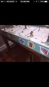 NHL table top hockey 1960