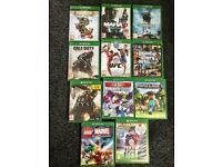 Xbox one 11 games 1pad excellent condition