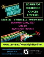 Light up the Night in Support of Childhood Cancer