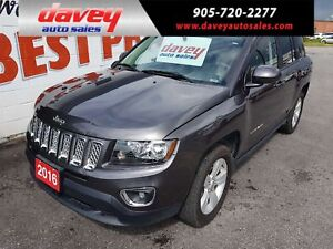 2016 Jeep Compass Sport/North HIGH ALLTITUDE PKG!  SUNROOF, L...