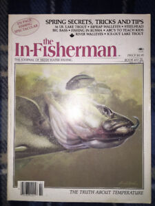 Fishing Magazines ( All the 1980's ) 29 Mags in All