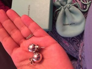 Tiffany jumbo ball earrings