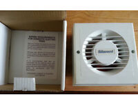 NEW SILAVENT EXTRACTOR VENTILATION FAN, MANUAL OR TIMED, WC, BATHROOM, KITCHEN, WORKSHOP £10 & £12