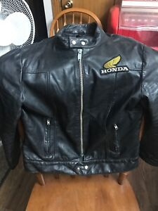 Honda Leather Jacket from the 80s