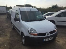 2006 RENAULT KANGOO DIESEL IN VGCONDITION SIDE LOADING DOOR ROOF RACK SECURITY LOCK YRS MOT PLYLINED