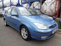 FORD FOCUS , 2003 , LOW MILES , FULL YEARS MOT , DRIVES GREAT , TRADE IN TO CLEAR