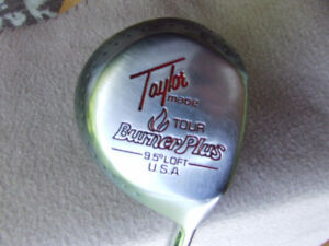 Taylor Made Tour Burner Plus Driver (RH) + Head Cover - $20.00