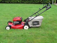 "Toro self propelled 53cm (22"") Lawnmower"
